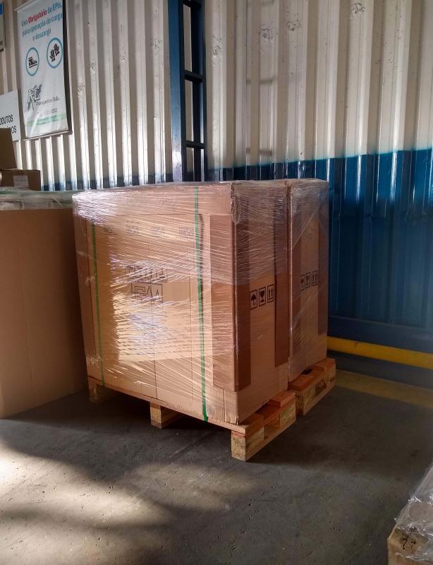 Transporte de maquinas e equipamentos
